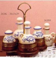 Набор для специй синий Арт. 3638C CAPANNI (ИТАЛИЯ)