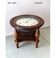 Арт. 3878 Столик с часами Capanni