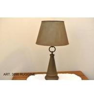 Настольная лампа Арт. 3890 Ruggine CAPANNI (ИТАЛИЯ)