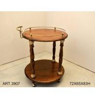 Арт. 3907 Сервировочный столик CAPANNI (ИТАЛИЯ)