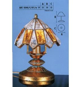 Настольная лампа Арт. 0340/C/01/w LONGOBARD (ИТАЛИЯ)