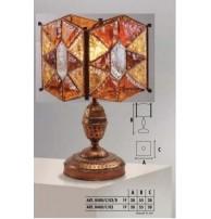 Настольная лампа Арт. 0480/C/02 Longobard (Италия)