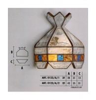 Бра Арт. 0123/A/1, 0123/2 Longobard (Италия)
