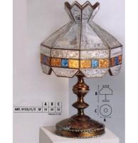 Настольная лампа Арт. 0123/C/2 Longobard (Италия)
