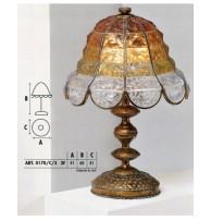 Настольная лампа Арт. 0170/C/3 Longobard (Италия)