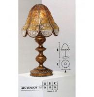 Настольная лампа Арт. 0170/C/1 Longobard (Италия)