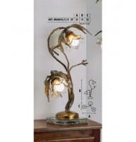 Настольная лампа Арт. BRANCO/C/4 Longobard (Италия)