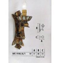 Бра Арт. 0185/A/1 Longobard (Италия)