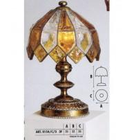 Настольная лампа Арт. 0154/C/3 Longobard (Италия)