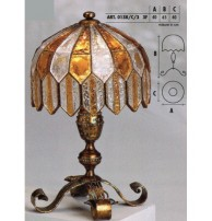 Настольная лампа Арт. 0138/C/3 Longobard (Италия)