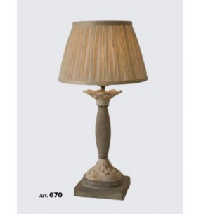 Настольная лампа Арт. 670 Toscot