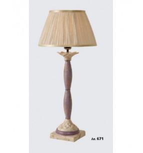 Настольная лампа Арт. 671 Toscot