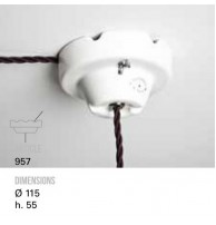 Держатель для кабеля TOSCOT (Италия) Арт. 957