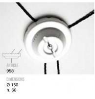 Держатель для кабеля TOSCOT (Италия) Арт. 958