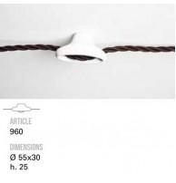 Держатель для кабеля TOSCOT (Италия) Арт. 960